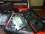 Видеокарта Radeon RX570 Series 4GB, бу