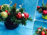 Новогодние подарки, композиции, Ёлочки, ручная раб